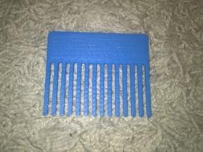 simple crest / comb