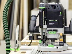 Festool vacuum hose clamp