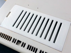 Custom trapdoor cover for the Amiga 1200
