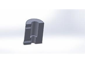 Coupling for 3D printer Aluminum make