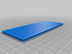 My Customized Tamiya compatible  perforated building plate