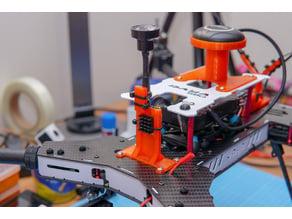 Daya H4 680 quadcopter drone AKK X2 VTX mount
