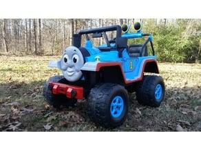 Thomas Train Power Wheel Jeep Build Parts