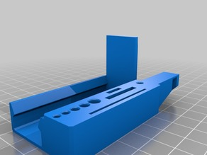 Ender 3 Ultimate Tool Holder End Cap