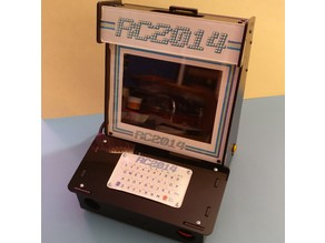 RCade - Laser cut files for RC2014 modifications to Pimoroni Picade