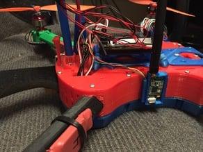 Telemetry radio case for T4 Quadcopter