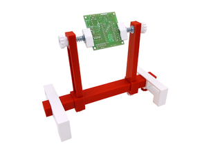Stand for soldering parts on PCB.