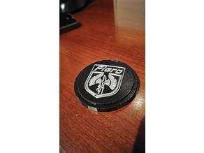Fiero Steering wheel cap (Grant aftermarket wheel)