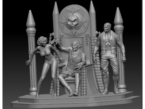 Vampire Diorama