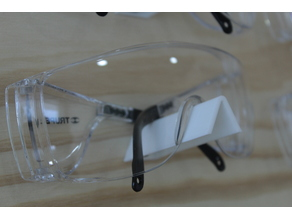 Holder for safety glasses - porta lentes de seguridad