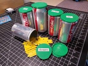 Soda can lid