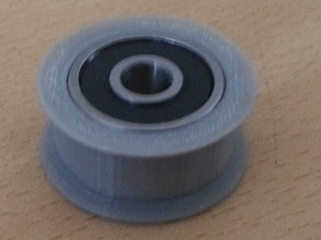 GT2 Pulley / Idler, no teeth for 5x16x5 Bearing (625ZZ)