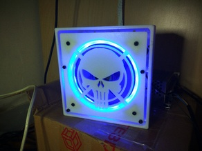 Punisher lid for MKS Gen L / RAMPS + dual MOSFET case