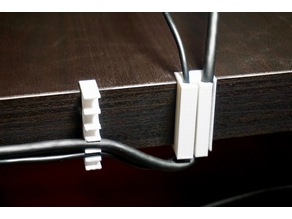 table back cable clip