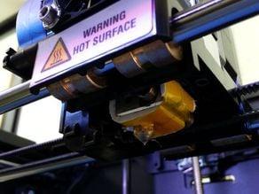 Replicator 2 Ceramic Tape replacement template