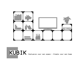 KUBIK - Costumizable shelving joints