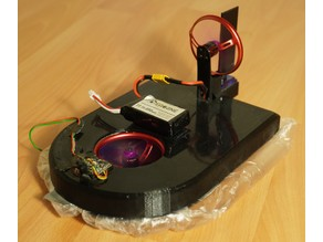 "Tiny FPV Hovercraft (2""/50mm prop, 1106 Motor, high speed)"