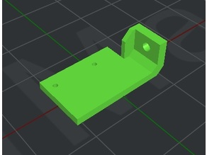 CR10(s) X Axis End Stopper / Limit Switch Mount