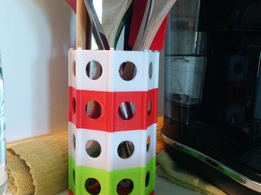 Kitchen utensils modular holder