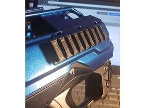 Nerf Rayven picatinny side rail