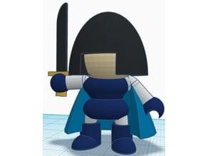 Cartoon Figure - Mystic Knight