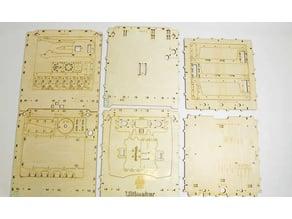 Ultimaker+ Lasercut Drawings
