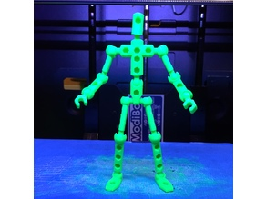 ModiBot Mo poseable figure kit