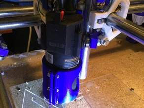 MPCNC Tool Holder for Harbor Freight Trim Router Remix