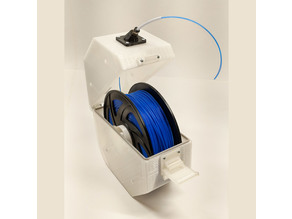 Parametric Enclosed Stackable Spool Holder