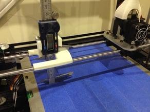 Digital caliper bed levelling jig