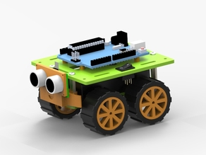 4WD Smart Car (Arduino, N20 motor)