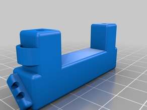 Extruder LED Strip Mount for Wanhao i3 (Monoprice Maker Select)