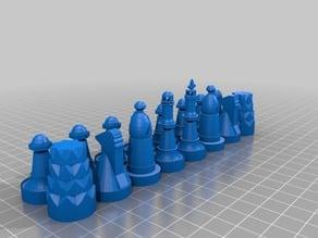 Chess Set: Contemporary