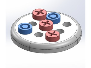 Voronoi Tic Tac Toe