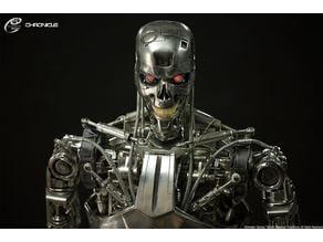 T-800 Endoskeleton Full Body 3D Model