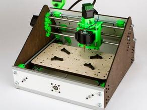 3D Printed & Laser Cut, Lil-CNC Mill ACv2