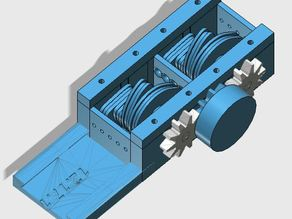 DaVaHaG verion 2 - Dynamic Variable Hand Grip tension box for e-NABLE raptor hand