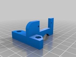 Servo support for auto bed leveling J-head PRUSA i3 - Soporte de servo para el autonivelador de la cama caliente