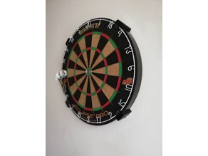 Dartsboard wallmount