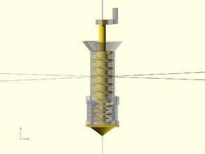 Mini Extruder: Layered Moineau based Pump plus Conical Auger