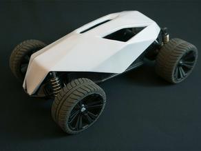 Toy RC Car Redesign - Skull Body