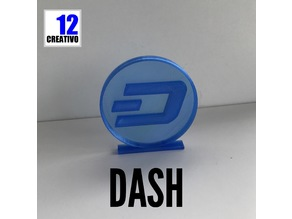 Dash Coin Crypto Currency Stand