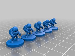 Spaceman 15mm #pocket-dungeons #pocket-tactics #multiverse