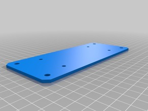 Lulzbot Taz 6 Palette 2 Pro Adapter Hanging Mounting Plate