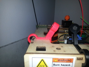 Filament Guide and Dust Guard for TOM Top Loading