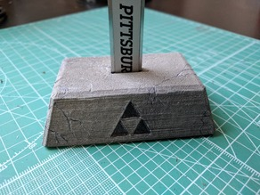 Master Sword Pedestal of Time (for digital calipers)