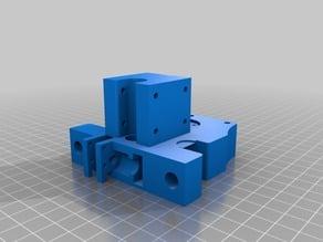 PrintRite DIY 3D Printer Improved Y-Axis Gantry End Blocks