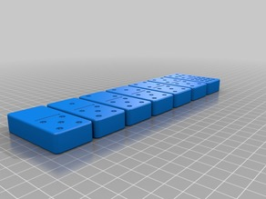Double Twelve Domino Set