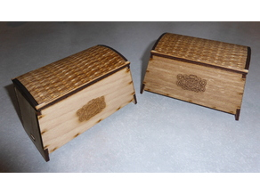 simple Viking Chest