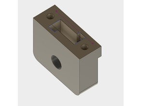 CR-10 Z-Rod Receiver for 608 Bearing
